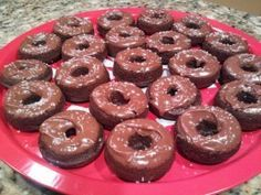 Chocolate Protein Donut Recipe | #proteinpowder #chocolate #donught | thefitfork.com