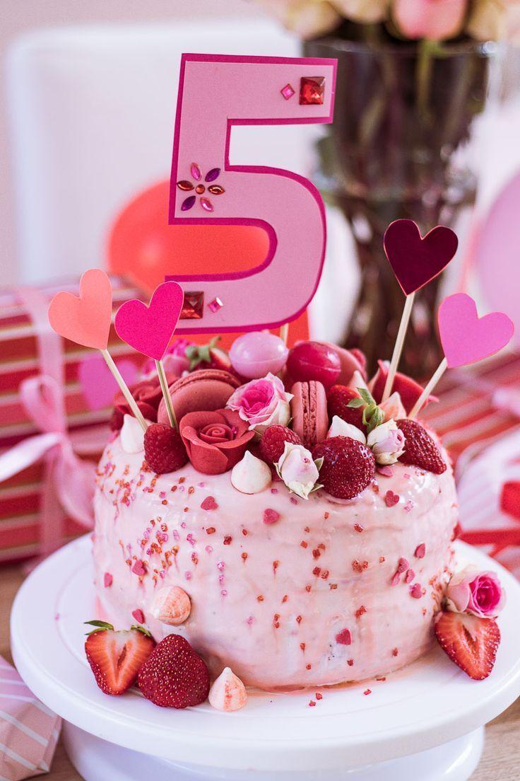5 Geburtstag In Rosarot Und Die Geschichte Mit Der Torte