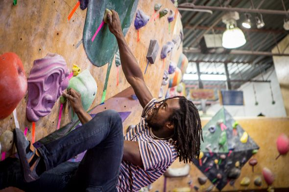 Boulderz Climbing recently celebrated its sixth birthday in the Junction Triangle and just opened another location in Etobicoke - so now climbing enthusiasts in Toronto have two places to do some serious bouldering.  While the Junction Triangle location is listed at 1444 Dupont St, when I got to that address, I...