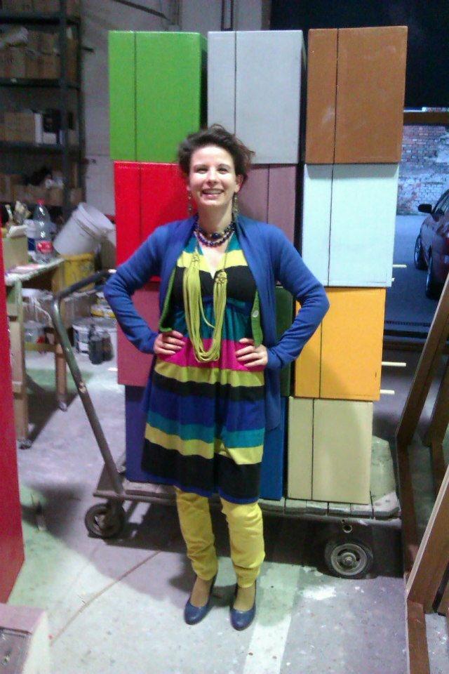 United Colours of Nemeth Hajnal Aurora Artist/ Boxes form The Play Bal at the Hotels Savoy/ Bál a Savoyban bőröndjei:)