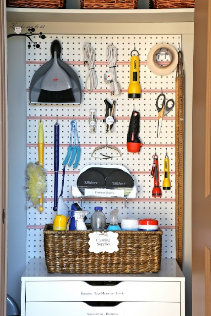 A Well Organized Utility Closet Tool OrganizationOrganization