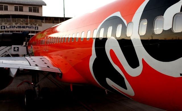 Mango plane at Lanseria Airport