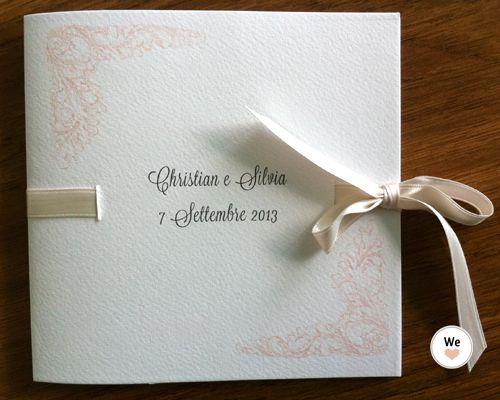libretto messa matrimonio quadrato da