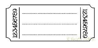 UM Stempel - Billett - Journaling linjer