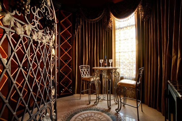 Wine Room: Lavish Mediterranean Masterpiece in Frisco, Texas