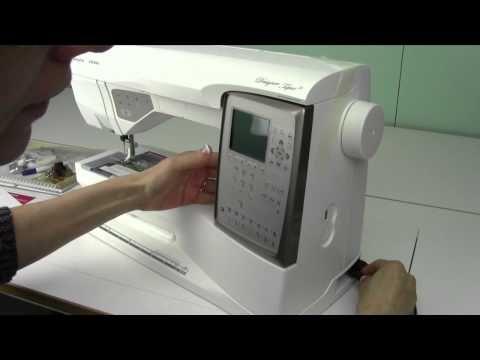 Husqvarna Viking Topaz 40 40 Machine Set Up YouTube Embroidery Amazing Husqvarna Topaz 20 Sewing Embroidery Machine