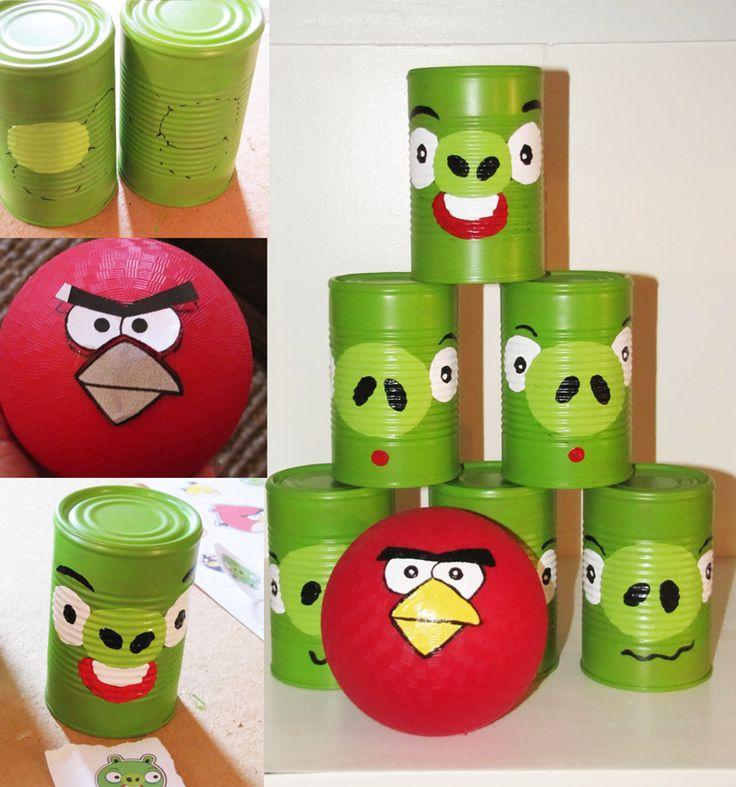Nuestros propios Angry Birds