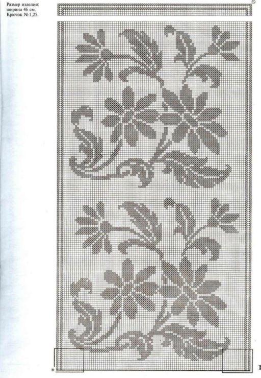 Gallery.ru / Фото #96 - Crochet Filet pour Point de Croix 1 - Mongia