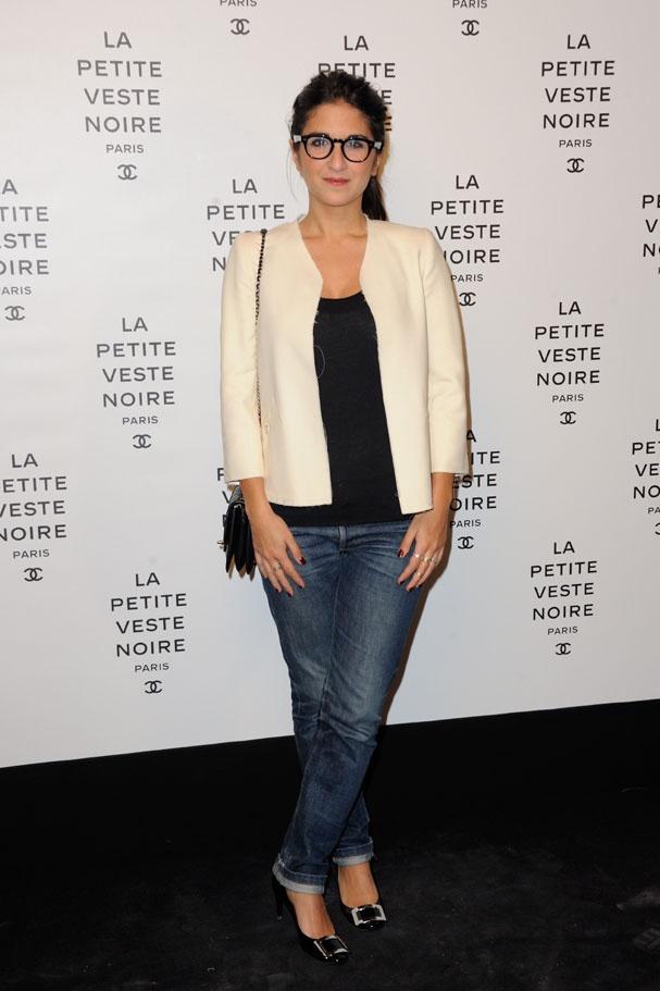 """Géraldine Nakache à la soirée Chanel """"La petite veste noire"""""""