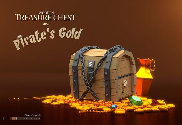 Treasure chest on Behance