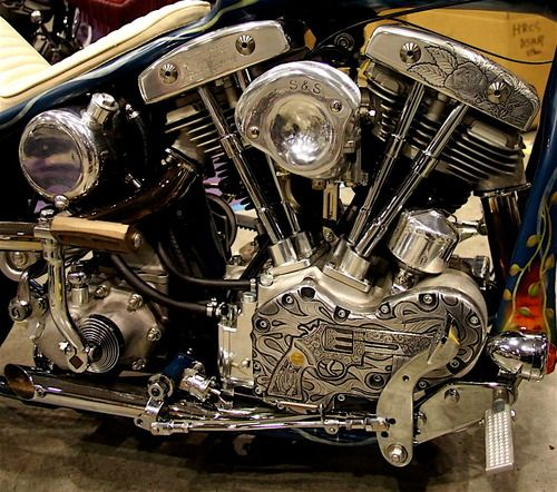 Shovelhead engraved  This is an example of poor execution....but a neat idea overall.