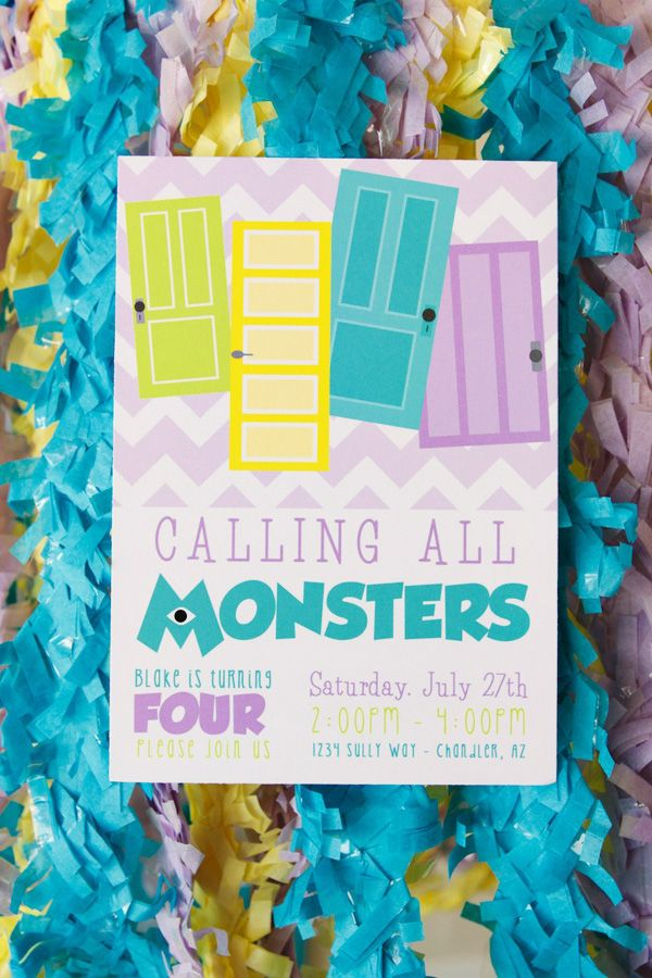 monster university cupcakes | Playful Monsters University Themed Party // Hostess with the Mostess®