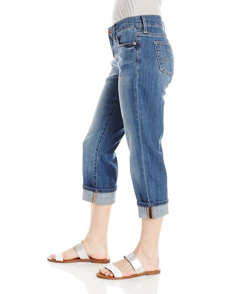 Lucky Brand Womens Cropped Jeans Easy Rider Straight leg 5 Pockets size 0 NEW   26.99 http://www.ebay.com/itm/Lucky-Brand-Womens-Cropped-Jeans-Easy-Rider-Straight-leg-5-Pockets-size-0-NEW-/332371551395?ssPageName=STRK:MESE:IT