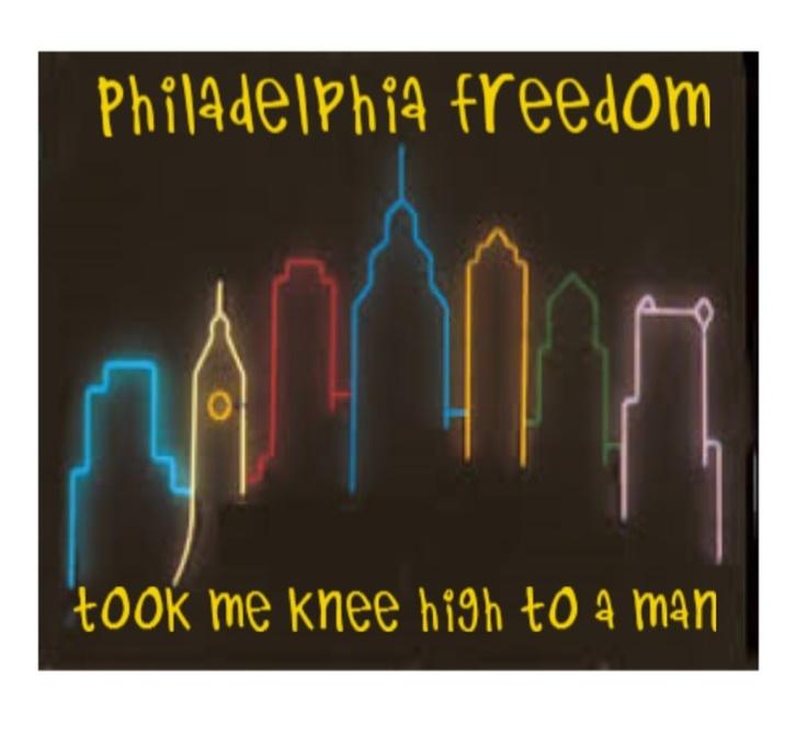 Elton John Philadelphia Freedom lyrics song music lyrics