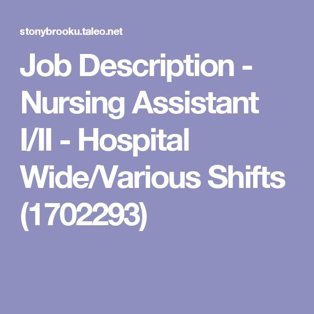 25+ beste ideeën over Nurse job description op Pinterest - Nurse Job Description