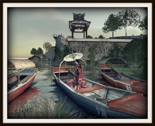 Japanese-Themed Hosoi Ichiba Sims Leave SL for Kitely