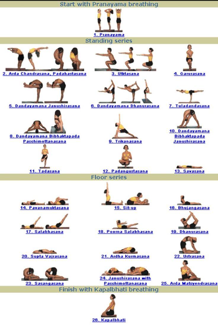 Kemetic Yoga Poses
