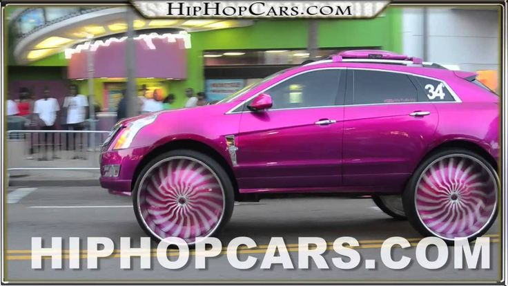 34 Inch Rims 34 Forgiato Magro S On Cadillac Srx Pink