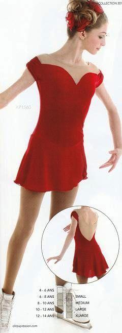 Xpression XP1560 Skating Dress