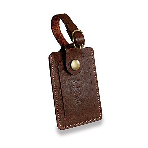 Levenger Tusting Luxury Luggage Tag TobaccoAL13225 TB NM >>> Want to know more, click on the image.Note:It is affiliate link to Amazon.
