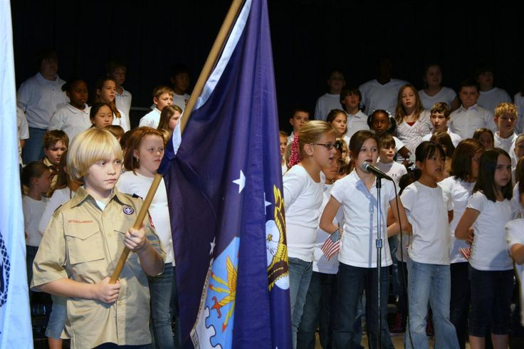 Greystone Elementary School: Teachers - Sara Womack - Veterans Day Program