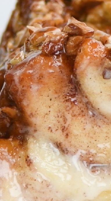 Pecan Sticky Bun Pull-Apart Bread - https://www.facebook.com/firstmediasoyummy/videos/1739151803065630/?hc_ref=NEWSFEED