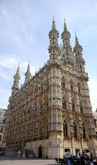 Town Hall of Leuven, Belgium