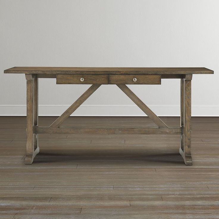 Compass Console Table Tables Furniture And Brown