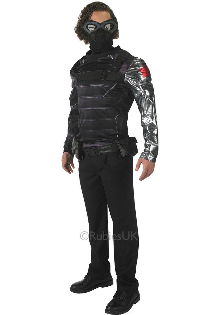Adult Winter Soldier Costume, Captain America 2, Deluxe | Escapade® UK