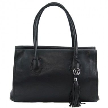 TL Bag - Soft leather bag with tassel detail and shoulder strap www.ciaobella.net.nz Handbags Online New Zealand