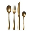 Seletti Midas 24 Piece Cutlery Set in Gold Plate to make every occasion special