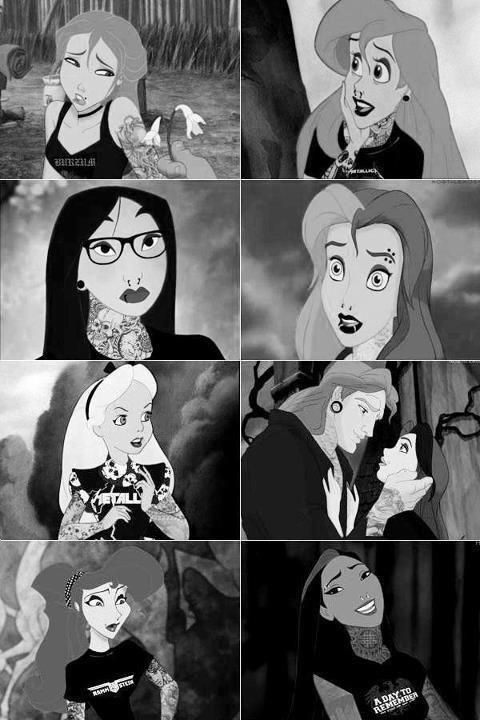 Disney punk edits