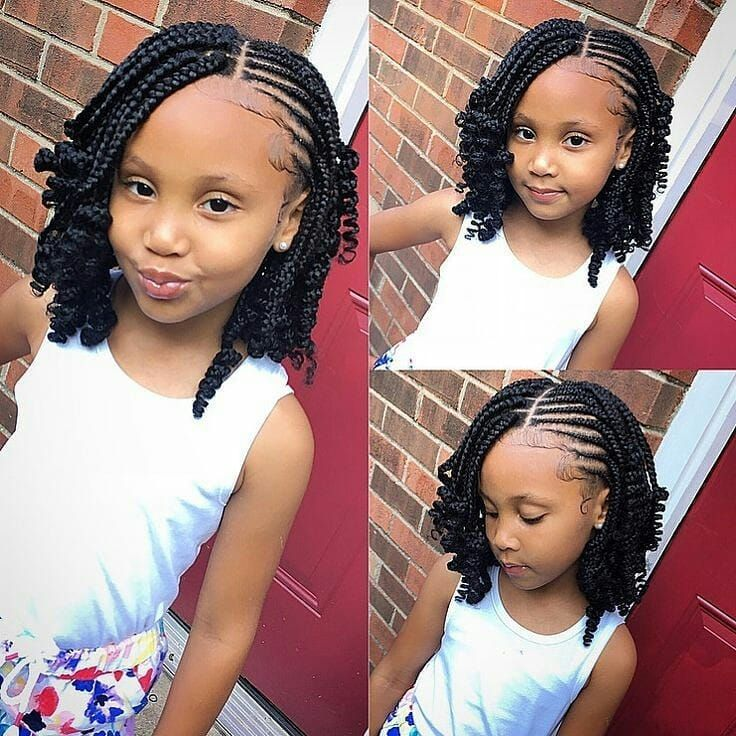 Darling This Is How She Needs To Look Pretty Always Follow Jannyblist Blog Darling This Is How She In 2020 Braid Styles For Girls Kids Hairstyles Braids For Kids