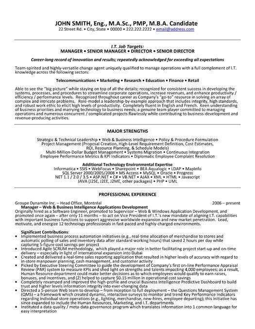 1000  images about management resume templates  u0026 samples on pinterest