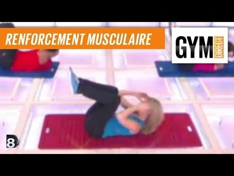 Cours gym : renfort musculaire 7 : Abdos & fessiers - YouTube