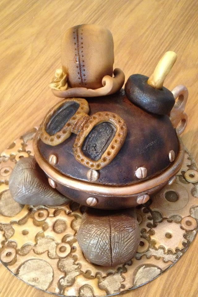 982 best Steampunk Cakes images on Pinterest Amazing ...