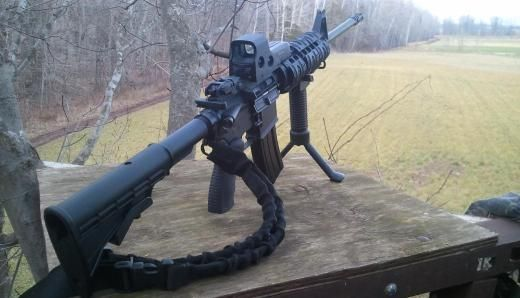 What Do I Put on my Hunting AR-15? - AR Accessories