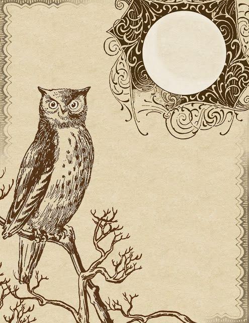 Printable A Wise Old Owl Pinned by www.myowlbarn.com