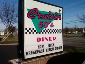 Old 50's diners