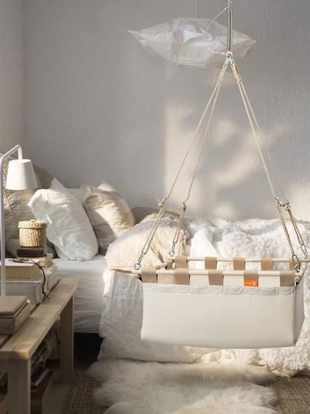 Gorgeous Hanging Cradles For Your Nursery