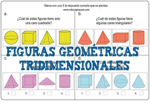 Formas y figuras geométricas tridimensionales primaria Repasamos ...