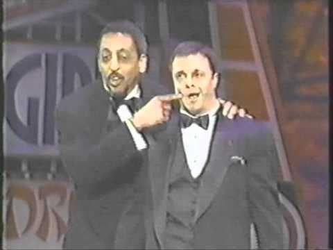 Gregory Hines & Nathan Lane at the 1995 Tonys.  Performing a medley of songs that traditionally go to the ladies!