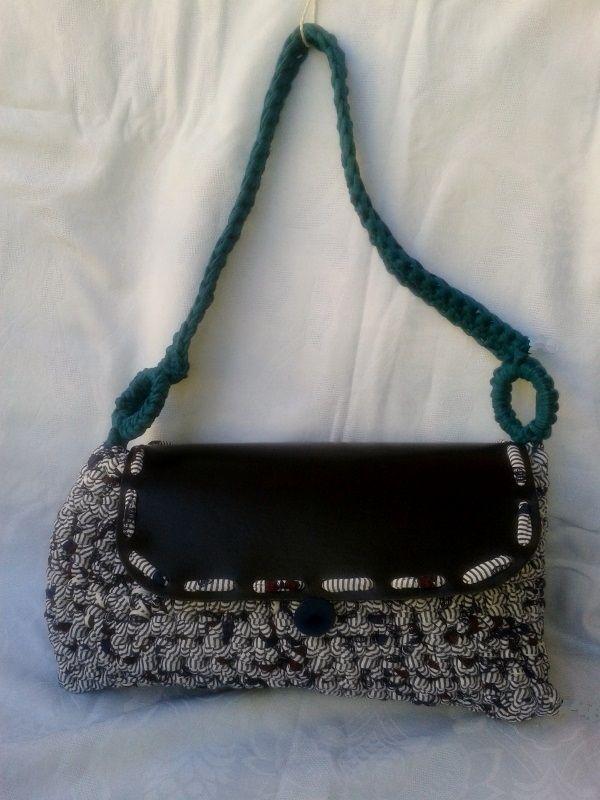 Handmade crochet bag.Dimensions 36cm x 19cm