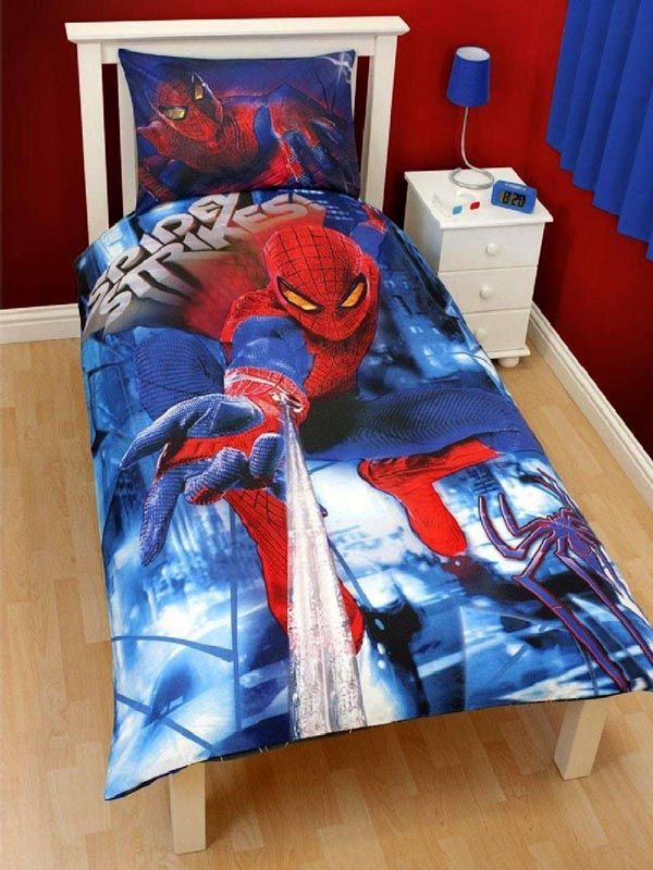37 best michael room images on pinterest for Boys spiderman bedroom ideas