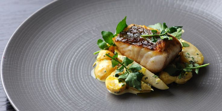 ***ENTREE*** Hake fillet with golden beet and radish salad Nutritional Information Calories 885 Caloriesfromfat 68 % Protein 26 g Fat 67 g Satfat 29 g Carbohydrate 48 g Fiber 8.8 g Sodium 410 mg Cholesterol 172 mg . SLOtility.com