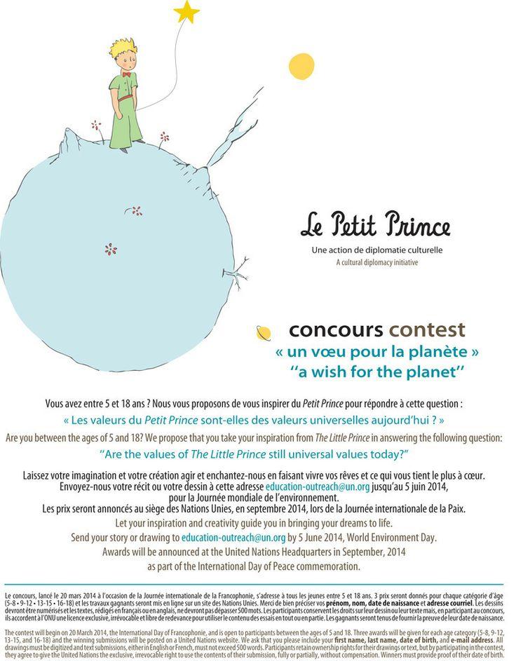 Faites passer le mot, un concours est organisé ....