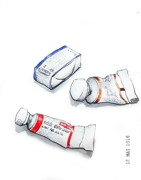 18 - Paint can, tube or bottle