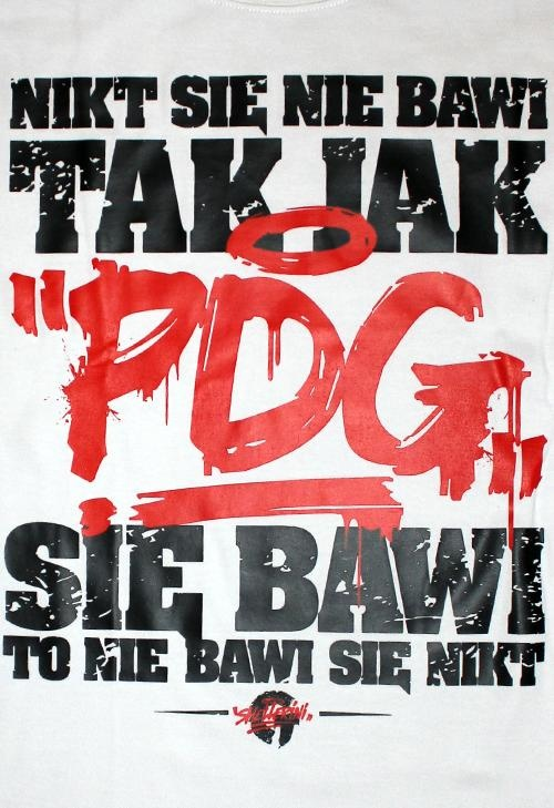 Koszulka PDG GAWROSZ Tak Się Bawi PDG biała    http://el-polako.com/index.php?c=product=show=139