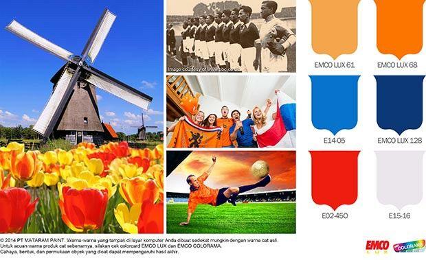 Semangat Negeri Van Oranje #Trend #Lifestyle http://matarampaint.com/detailNews.php?n=106