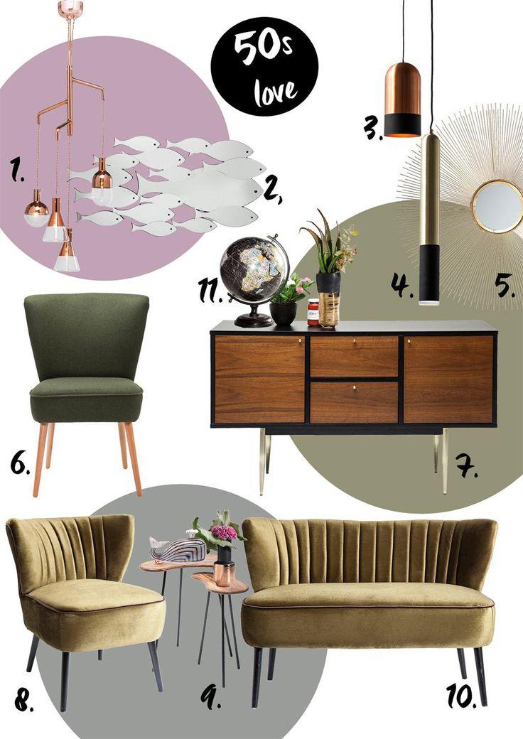 Inspirujące lata 50. — Blog — KARE® Design